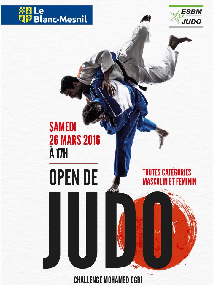 Open de la ville du Blanc-Mesnil – Challenge Mohammed OGBI